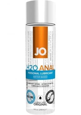 Jo H2O Anal Water Based Lubricant 8 Ounce
