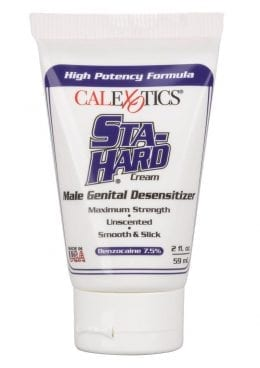 Sta-Hard Cream Desensitizer Bulk Tube 2 Ounces