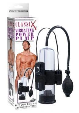 Classix Vibrating Power Pump 7.5 Inch Black