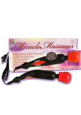 Miracle Massager 2 Speed 120 Volt 10.25 Inch Black With Red