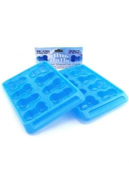 Blue Balls Penis Ice Tray 2 Per Pack