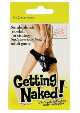 Getting Naked A So Simple and So Sexy Adult Couples Game