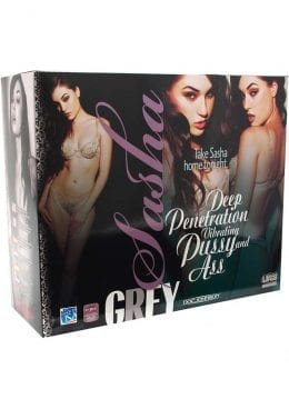 Sasha Grey UR3 Vibrating Pussy And Ass Flesh