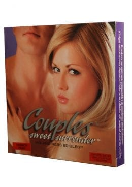 Couples Sweet Surrender His And Hers Edible 3 Piece Passion Fruit