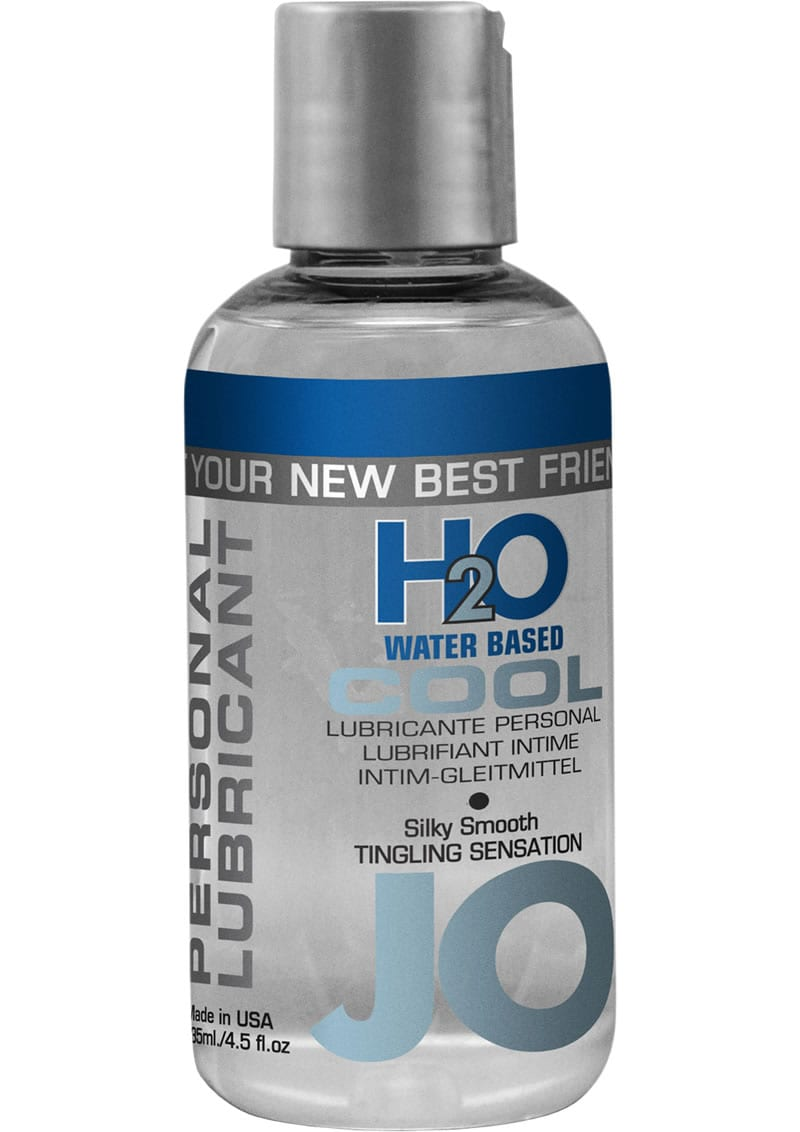 Jo H2O Cool Water Based Lubricant 4 Ounce