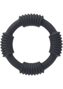 Adonis Silicone Rings Hercules Black