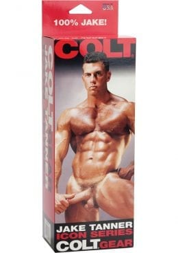 COLT COCK JAKE TANNER ICON SERIES 8 INCH WITH SUCTION CUP