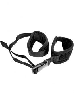 Sex And Mischief Adjustable Handcuffs Black