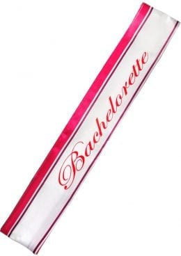 Bachelorette Party Silk Sash