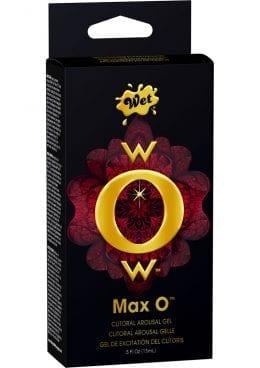 Wow Max O Clitoral Arousal Gel .5 Ounce