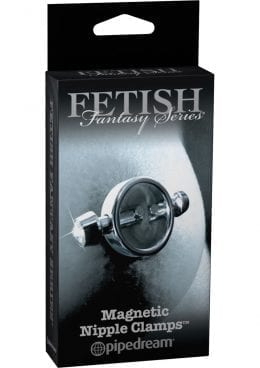 Fetish Fantasy Series Limited Edition Magnetic Nipple Clamps Silver