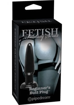 Fetish Fantasy Series Limited Edition Beginner`s Butt Plug Black