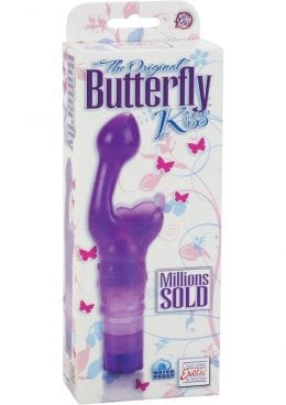 The Original Butterfly Kiss Vibrator Waterproof Purple