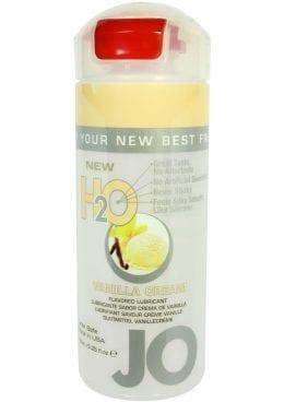 Jo H2O Flavored Lube Vanilla Cream 4 Ounce