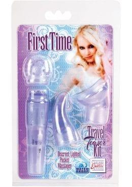 First Time Travel Teaser Massager Kit Waterproof Purple