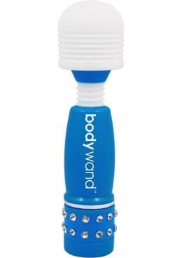 Bodywand Neon Edition Mini Massager Blue 4 Inch
