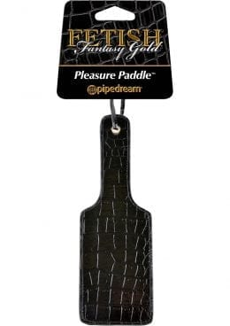 Fetish Fantasy Gold Pleasure Paddle Black