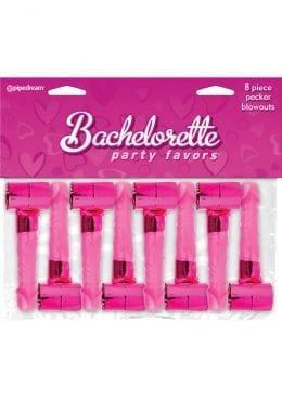 Bachelorette Party Favors Pecker Blowouts Pink 8 Each