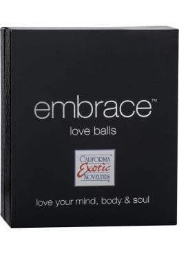 Embrace Love Balls Silicone Dual Motor Kegel Exerciser Waterproof Pink