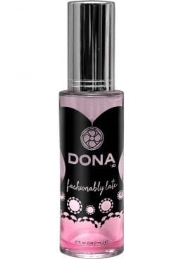 Dona Aphrodisiac and Pheromone Infused Perfume Spray Fashionably Late 2 Ounce