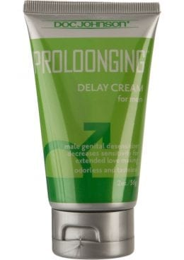 Proloonging Delay Cream For Men 2 Ounce – Bulk