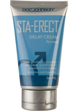 Sta Erect Delay Cream For Men 2 Ounce – Bulk