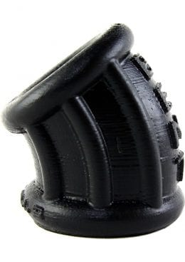 Bent 1 Curved Silicone Ballstretcher Black 2.25 Inch