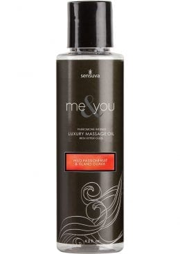 Me And You Pheromone Infused Luxury Massage Oil Wild Passionfruit Island Guava 4.2 Ounce