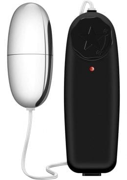 B Yours Wired Remote Control Silver Power Bullet Waterproof Black