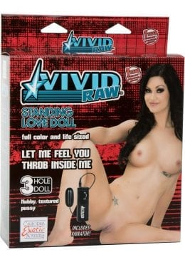 Vivid Raw Standing Love Doll Inflatable Vibrating Doll
