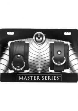 Master Series Neoprene Buckle Cuffs Black