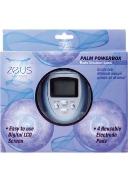 Zeus Palm Size Power Box Estim System 6 Modes