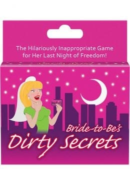 Bride To Be`s Dirty Secrets Card Game
