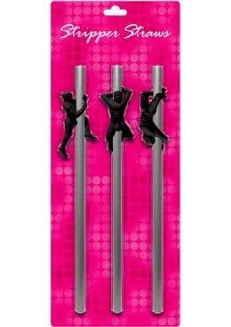 Stripper Straws Male 3 Each Per Pack