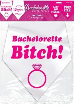 Bachelorette Party Favors Party Ties 4 Each Per Pack