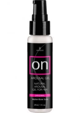 On Arousal Gel Natural Gel For Her Water-Base Original 1 Ounce