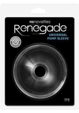 Renegade Universal Pump Sleeve Donut Clear