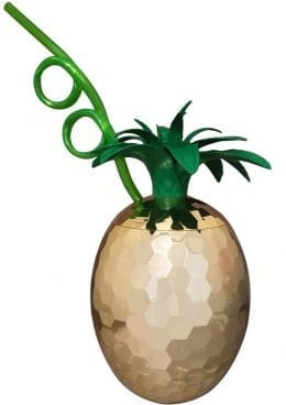 Pineapple Disco Cup Gold