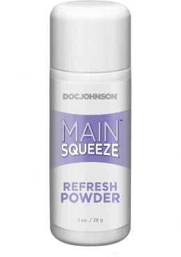 Doc Johnson Main Squeeze Refresh Powder 1 Ounce