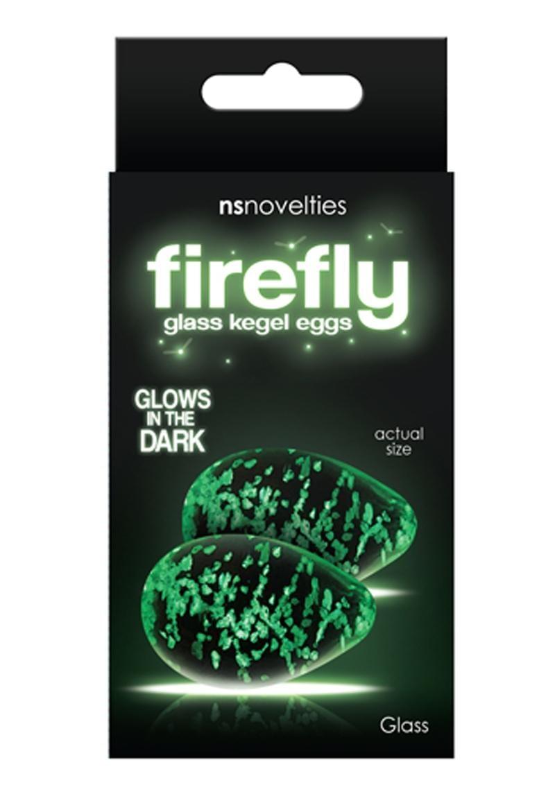 Firefly Glass Glow In The Dark Kegel Eggs Clear