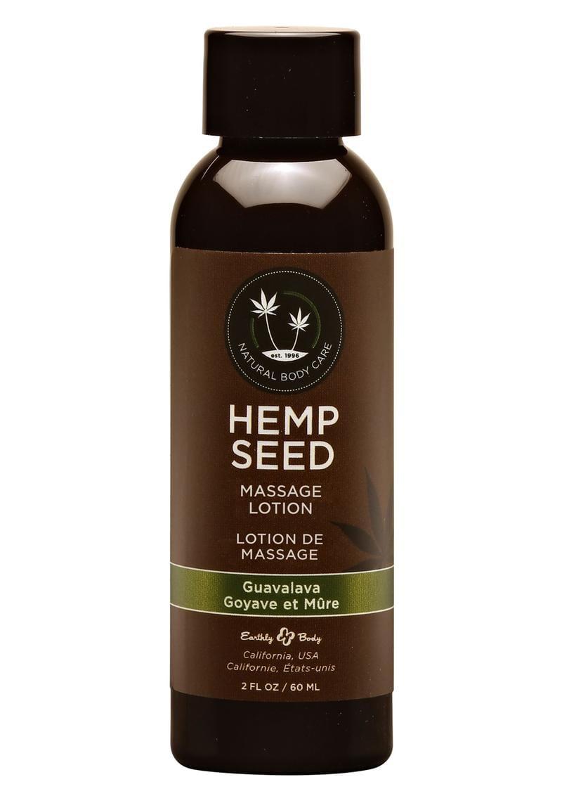 Hemp Seed Massage Lotion 100% Vegan Guavalava 2 Ounce