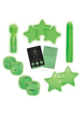 Bodywand 7 Piece Glow-In-The-Dark Card Game