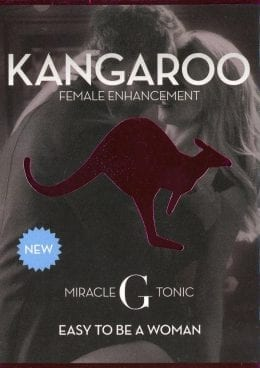 Kangaroo Miracle G Tonic Female Enhancement Pill 2 Each Per 6 Pack