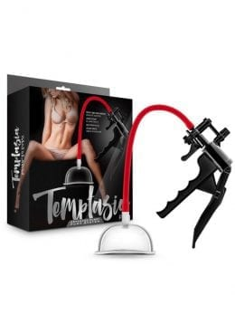 Temptasia Advanced Pussy Pump System Black And Red