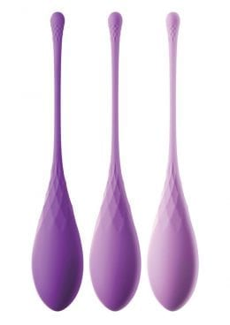 Fantasy For Her Silicone Kegel Train Her Set Purple