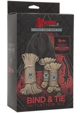 Kink Bind and Tie Initiation Kit 5 Piece Hemp Rope