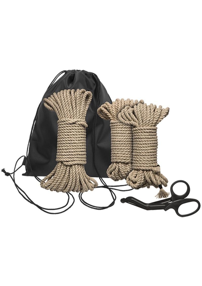 Kink Bind and Tie Initiation Kit 5 Piece Hemp Rope