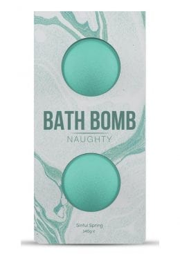Dona Naughty Fragrance Bath Bomb Sinful Spring 2 Per Box