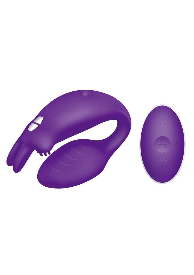 The Rabbit Company The Couples Rabbit Silicone Purple