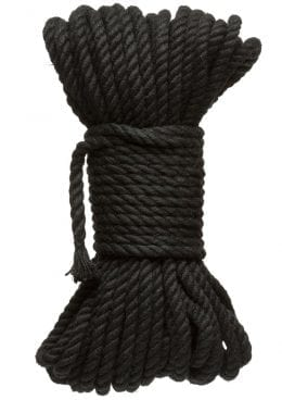 Kink Hogtied Bind And Tie 6mm 50` Black
